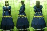 特売★ クローバーの国のアリス アリス風 新衣装 02 バニエ付 ●コスプレ衣装 ■■