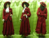 黒執事 マダム・レッド風 ●コスプレ衣装