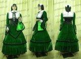ローゼンメイデン 翠星石風 ベロア製 ●コスプレ衣装