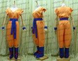 特売★ ドラゴンボールZ 孫悟空風 超サイヤ人 オレンジ ●コスプレ衣装