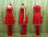特売★ 浜崎あゆみ 浜崎あゆみ風 舞台 ライブ 赤ドレス ●コスプレ衣装