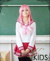 格安 らき☆すた 陸桜学園 女子 高良みゆき風 コスプレウィッグ