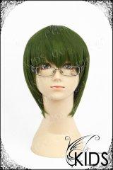 黒子のバスケ 緑間真太郎 コスプレ 耐熱ウィッグ