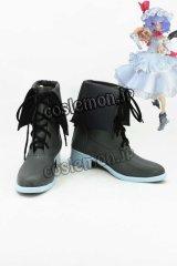 東方Project レミリア・スカーレット風 03 コスプレ靴 ブーツ
