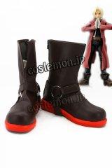 鋼の錬金術師 エドワ-ド·エルリック風 02 コスプレ靴 ブーツ