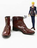 ジョジョの奇妙な冒険 ジョルノ・ジョバァーナ風 コスプレ靴 ブーツ