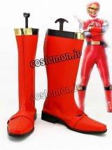 ヒーロー 戦隊シリーズ風 07 コスプレ靴 ブーツ
