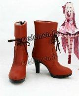 カゲロウプロジェクト 小桜茉莉風 コスプレ靴 ブーツ