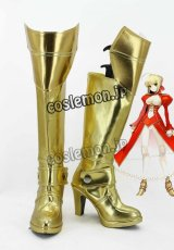 Fate/stay night フェイト・ステイナイト セイバー風 04 コスプレ靴 ブーツ