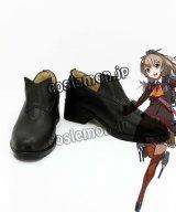 艦隊これくしょん 熊野風 くまの コスプレ靴 ブーツ