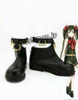 ラブライブ! 矢澤にこ風 BiBiスタイル コスプレ靴 ブーツ