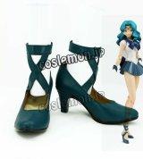 美少女戦士セーラームーンS 海王みちる風 02 コスプレ靴 ブーツ