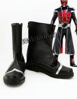 ヒーロー風 コスプレ靴 ブーツ