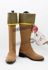 赤髪の白雪姫 白雪風 しらゆき コスプレ靴 ブーツ