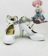 魔法少女まどか☆マギカ 鹿目まどか風 04 コスプレ靴 ブーツ
