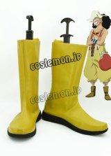 ONE PIECE ワンピース ウソップ風 03 コスプレ靴 ブーツ