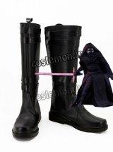 スター・ウォーズ フォースの覚醒 STAR WARS: THE FORCE AWAKENS カイロ・レン風 コスプレ靴 ブーツ