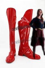 スーパーガール Supergirl風 02 コスプレ靴 ブーツ
