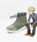 デンジ風 コスプレ靴 ブーツ