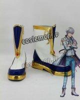 夢王国と眠れる100人の王子様 雪の国・スノウフィリア グレイシア風 コスプレ靴 ブーツ