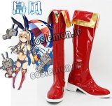 艦隊これくしょん 艦これ風 島風 コスプレ靴 ブーツ