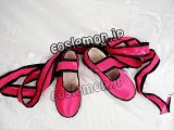 鉄拳5 リン・シャオロウ風 コスプレ靴 ブーツ