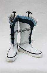 英雄伝説 空の軌跡 ブルブラン風 コスプレ靴 ブーツ