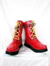 マクドナルド風 コスプレ靴 ブーツ