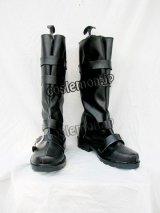 D.Gray-man アレイスター・クロウリー風 コスプレ靴 ブーツ