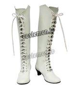 ローゼンメイデン 雪華綺晶風 きらきしょう コスプレ靴 ブーツ