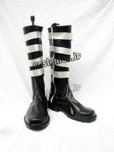 D.Gray-man Lavi ラビ風 04 コスプレ靴 ブーツ