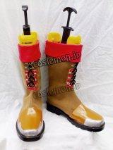 スーパーロボット大戦OG アクセル・アルマー風 コスプレ靴 ブーツ