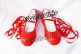 ローゼンメイデン ヒナイチゴ風 コスプレ靴 ブーツ