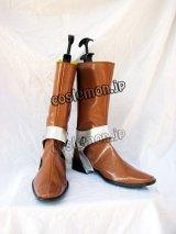 クロノ·トリガー 魔王風 コスプレ靴 ブーツ