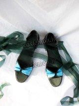遙かなる時空の中で4 葦原千尋風 コスプレ靴 ブーツ