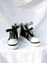 ファイナルファンタジー7 FF7 ティファ風 02 コスプレ靴 ブーツ