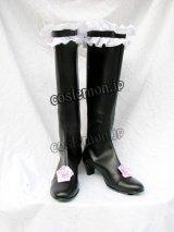 ローゼンメイデン 水銀燈風 02 コスプレ靴 ブーツ