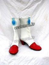 マクロス7 マクロスセブン ミレーヌ・フレア・ジーナス風 コスプレ靴 ブーツ