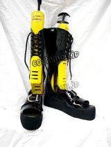 シューズ ゴスロリ ゴシック 万能風 47 コスプレ靴 ブーツ