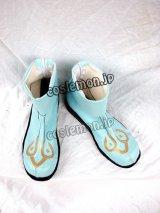 ラグナロクオンライン 拳聖風 コスプレ靴 ブーツ