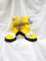 Wonderland Online ワンダーランド・オンライン Rock ロコ風 コスプレ靴 ブーツ