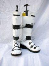 エレメンタル ジェレイド レンレヴェリー=メザーランス風 コスプレ靴 ブーツ