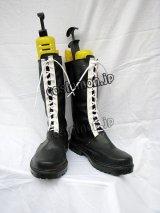 家庭教師ヒットマンREBORN! 六道骸風 コスプレ靴 ブーツ