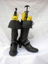 ファイナルファンタジーX-2 パイン風 Paine コスプレ靴 ブーツ