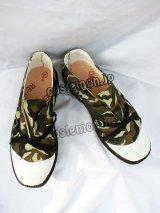 キングダムハーツ風 コスプレ靴 ブーツ