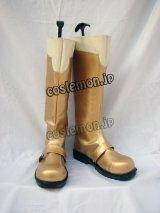 マクロスF マクロスフロンティア ランカ・リー風 02 コスプレ靴 ブーツ