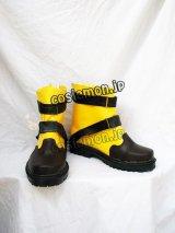 ファイナルファンタジーX-2風 コスプレ靴 ブーツ