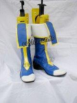 BLAZBLUE ブレイブルー ノエル・ヴァーミリオン風  コスプレ靴 ブーツ