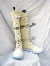 ファイナルファンタジー VII ユフィ・キサラギ風 02 コスプレ靴 ブーツ