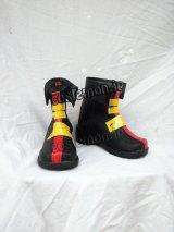 魔法少女リリカルなのはStrikerS ティアナ ランスター風 コスプレ靴 ブーツ